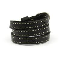 Wrap leather bracelet one size