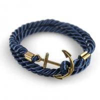 Anchor bracelet navy bronze