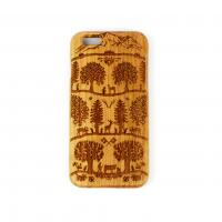 iPhone 6 Case Cherry wood Swiss Pattern