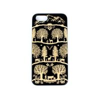 iPhone 6 6S Black Wooden Case Swiss Style