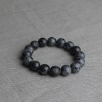 Labradorite bracelet big beads